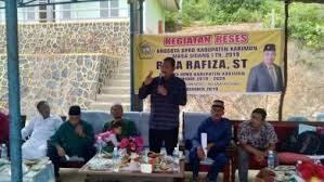 Anggota DPRD Karimun Mrngirim Surat Dukungan Nelayan Yang Di tahan Di Johor