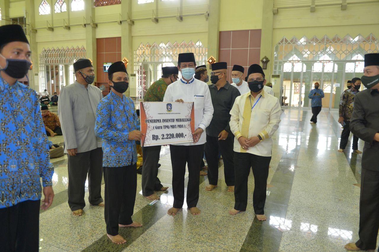 Isdianto Berterima Kasih untuk Pembangunan Keagamaan