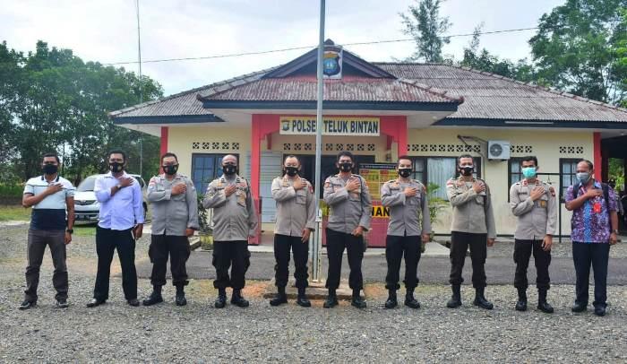 Karorena Polda Kepri Kunjungi Polres Bintan dan Polsek Jajaran
